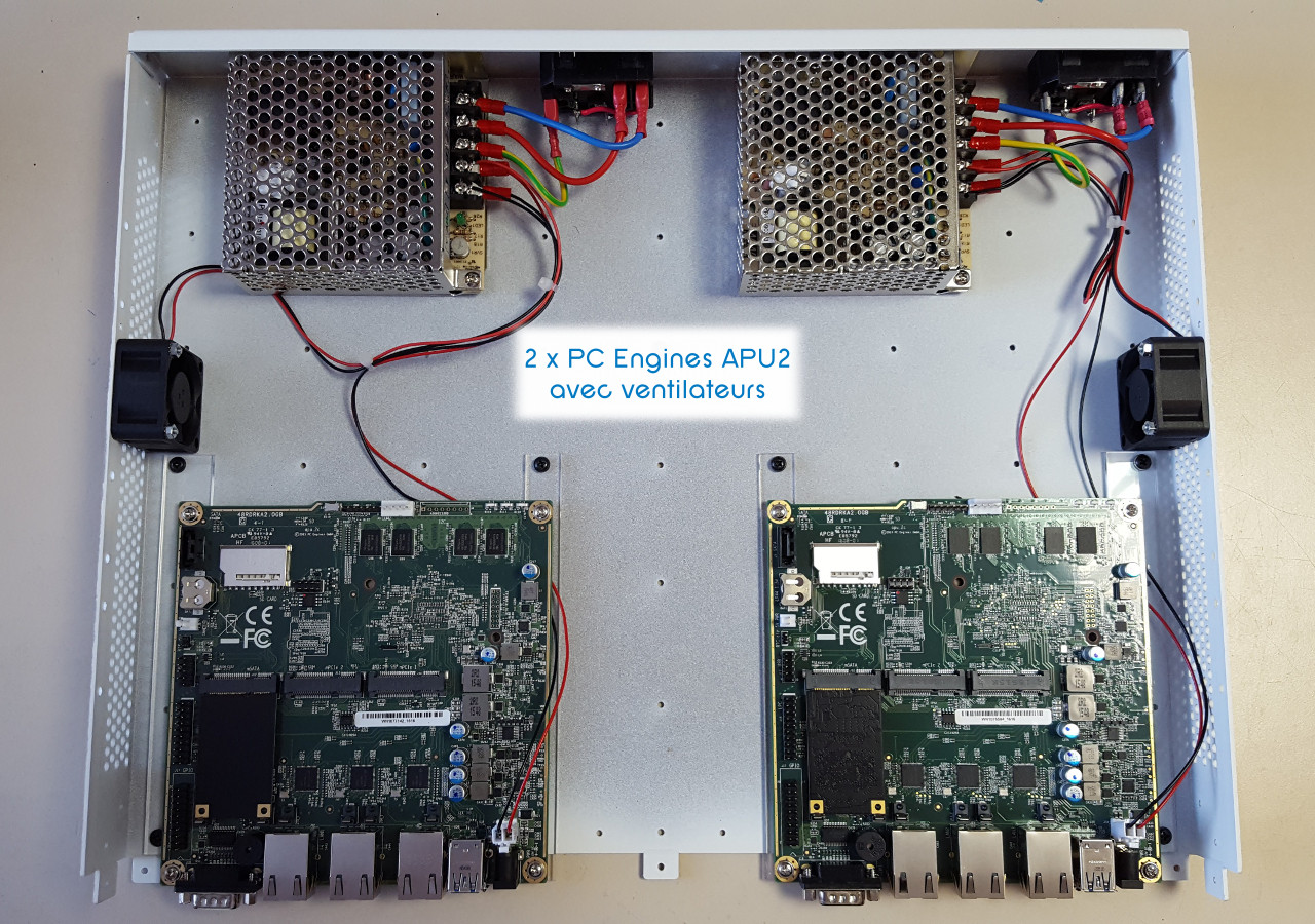 Dual PC Engines APU2 solution